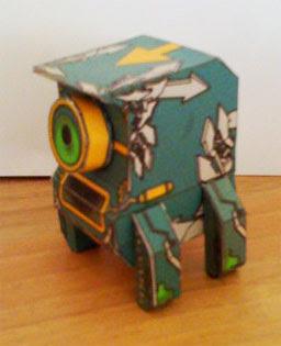 Transistory Papercraft