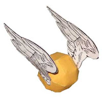 Golden Snitch Papercraft