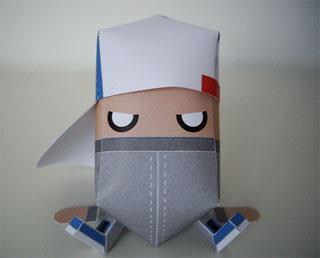 Mini.G Paper Toy