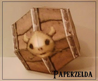 Powder Keg Papercraft