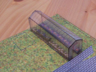 Hogwarts Greenhouse Papercraft