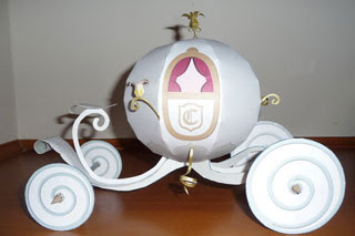 Cinderella Carriage Papercraft