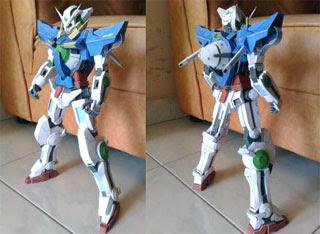 Gundam Exia Papercraft