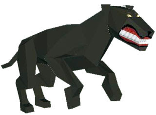 Black Panther Papercraft