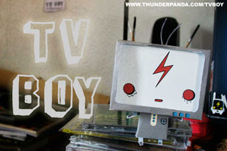 TV BOY Paper Toy