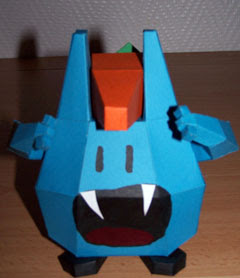 Tiwabbit Papercraft