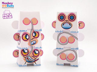 Monkeybutt Paper Totem
