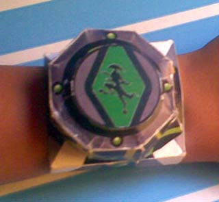 Omnitrix Watch Papercraft