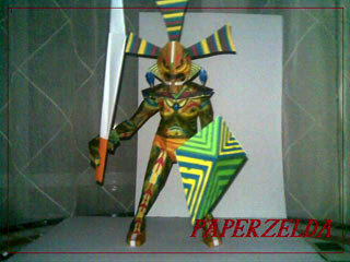 Odolwa Papercraft
