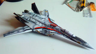 VF25F Messiah Papercraft