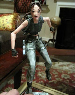 Lara Croft Papercraft