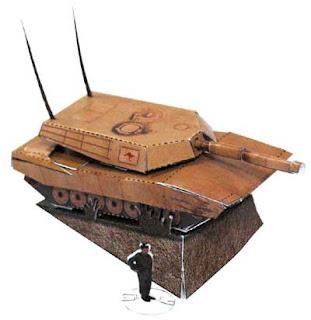M1A1 Abrams Tank Papercraft