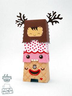 Paper Totem Elebea