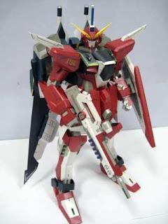 Infinite Justice Gundam Papercraft
