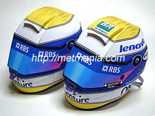 Auto Racing Helmet Papercraft