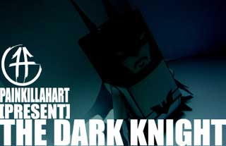The Dark Knight Paper Toy