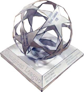 UEFA Champions League LOgo Papercraft