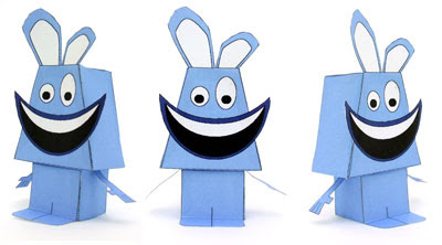 Radbit Paper Toy