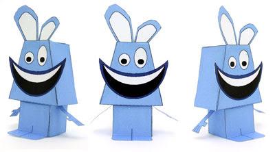 Radbit Paper Toy