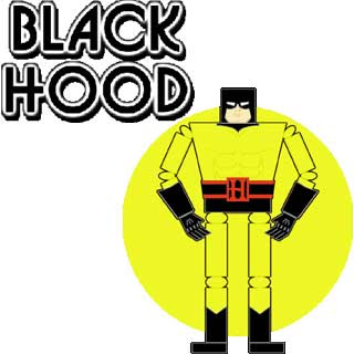 Black Hood Papercraft