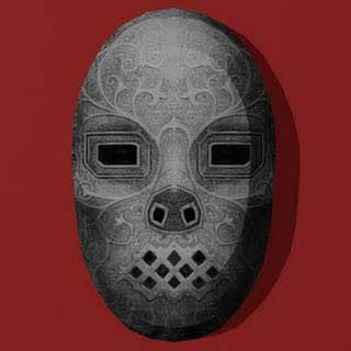 Death Mask Papercraft