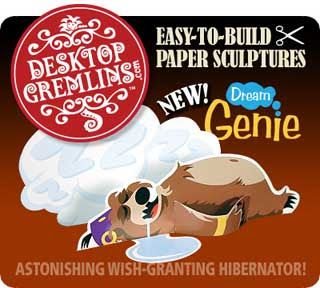 Dream Genie Papercraft