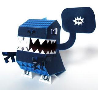 NaniBird Roar Paper Toy