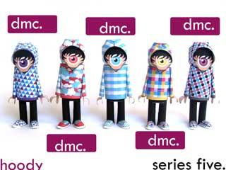 Hoody Paper Toys Series 5