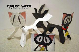 Papercraft Cat