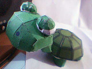 Lazy Turtle Papercraft