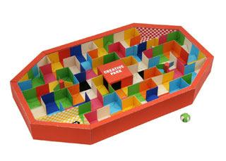 3D Maze Papercraft