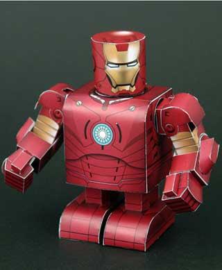 Iron Man MK3 Papercraft