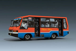 Metro Mini Bus Papercraft