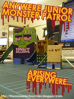 Junior Monster Patrol Papercraft