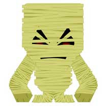 Halloween Mummy Papercraft