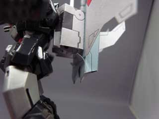 Dancouga Papercraft Mecha