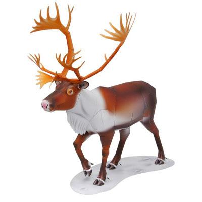 Reindeer Papercraft
