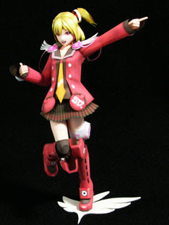 Emilia Papercraft Phantasy Star Portable 2
