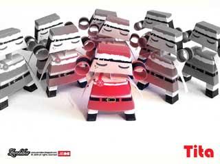 Tita Xmas Paper Toy