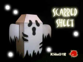 Scarred Sheet Papercraft