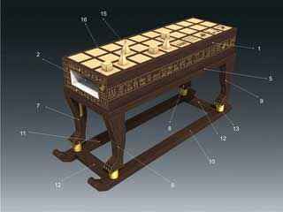 Senet Papercraft