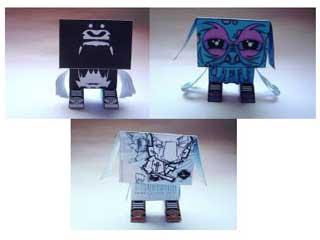 Gubi Gubi Paper Toys B Side