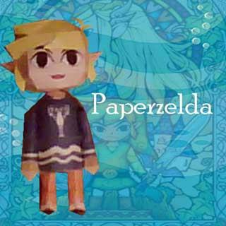 Pajama Link Papercraft