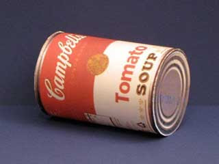 Campbell's Tomato Soup Can Papercraft