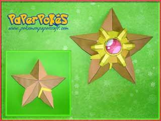 Pokemon Staryu Papercraft
