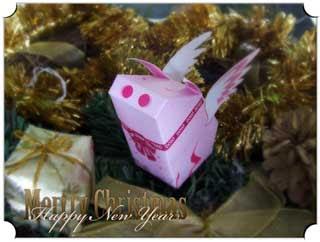 Felicity Pig Papercraft