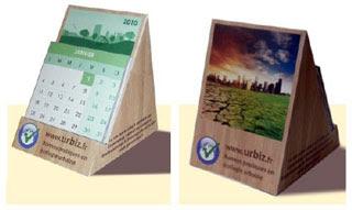 Urbiz 2010 Calendar Papercraft