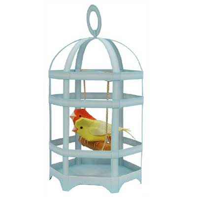 Bird Cage Canary Papercraft