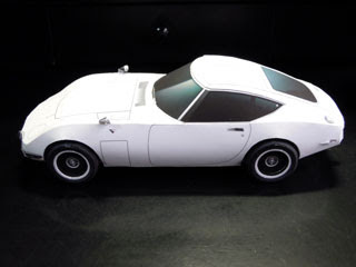 Toyota 2000GT Papercraft Car