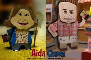 Aida Papercraft